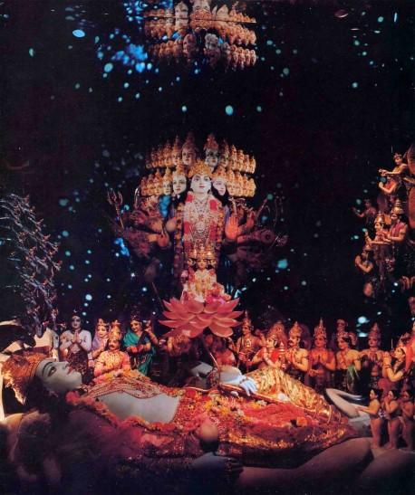 F.A.T.E. (First American Theistic Exhibit) Diorama Exhibit ISKCON Los Angeles - 1977