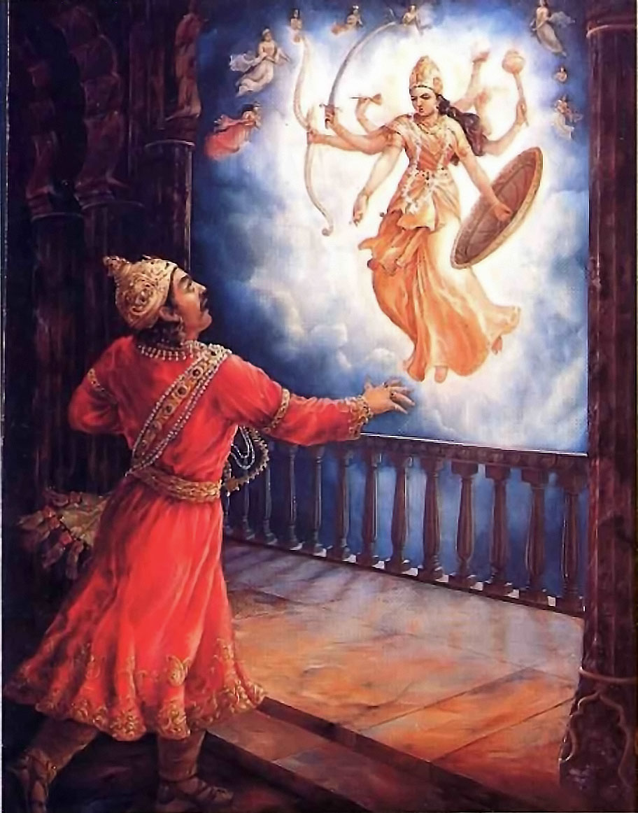 Lord Krishna Comes to Earth