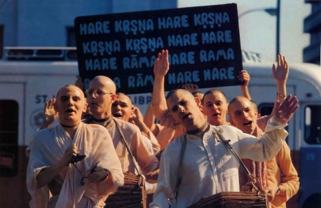 ISKCON Devotees Chant Hare Krishna in St. Louis, Missouri, 1977