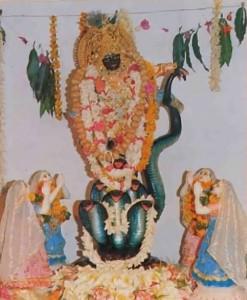 Kaliya Krishna Deity at ISKCON Fiji - 1977