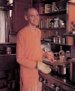 Pavamana dasa, cook (ISKCON Laguna Beach) - 1977