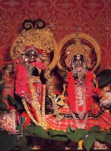 Sri Sri Radha-Damodara Deities, ISKCON Gita Nagari 1977