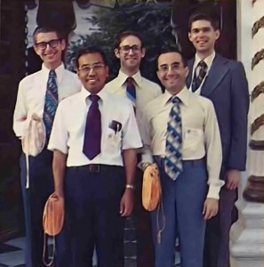 """Bhaktivedanta Institute Scientists at """"Life Comes from Life"""" Conference 1977"""