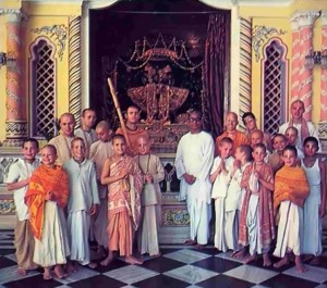 ISKCON Gurukula Students, Vrindavan, 1977