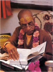 The maha-mantra, or Great Chant for Deliverance, and a virtual library on the ancient science of self-realization (middle) - these are just two of the gifts of His Divine Grace A.C. Bhaktivedanta Swami Prabhupada