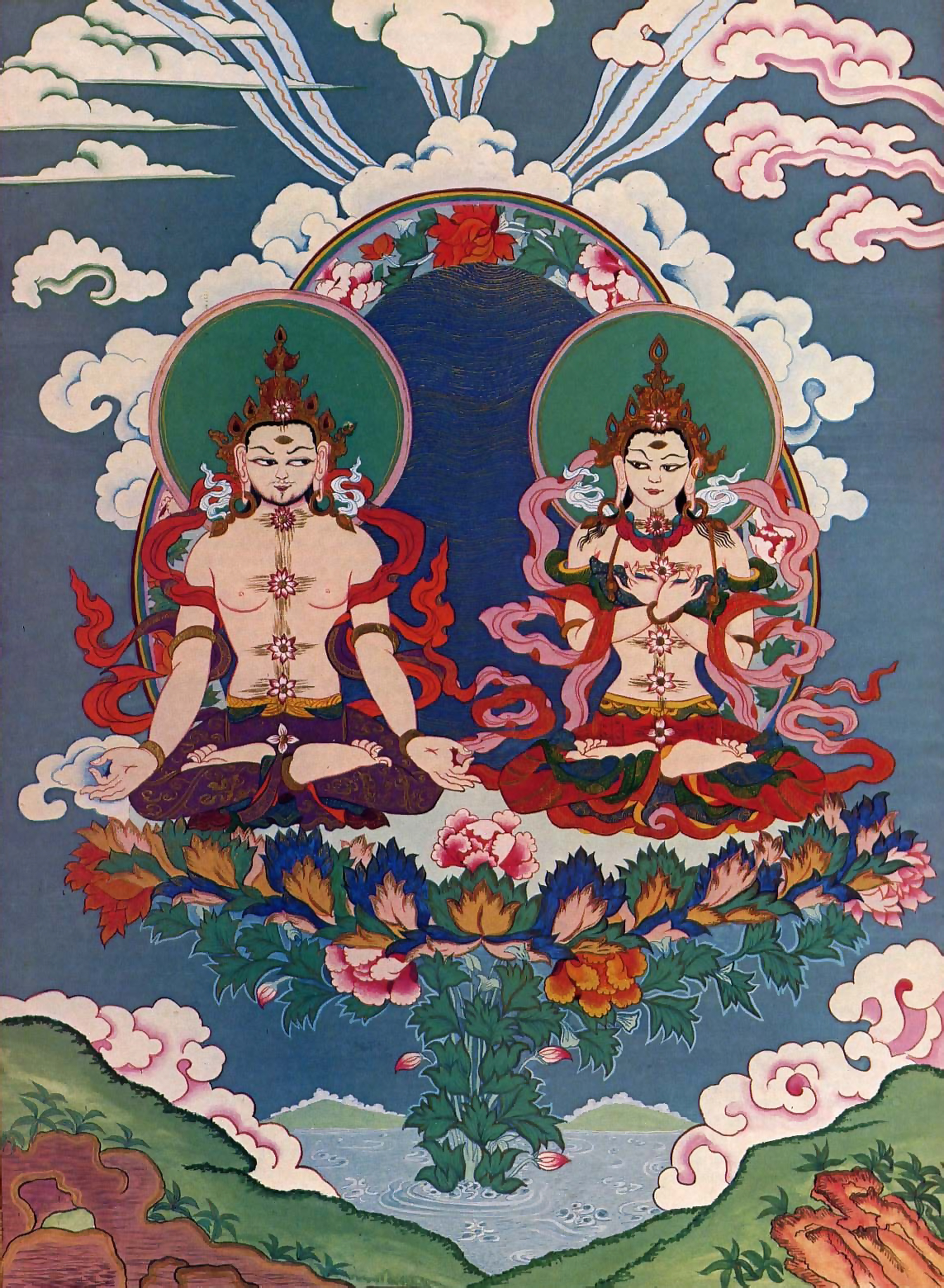 Tantric meditation of east or tantric sex of west