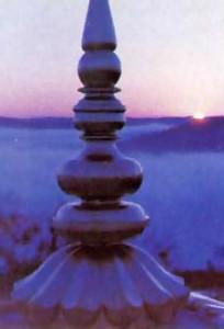 crowning spires