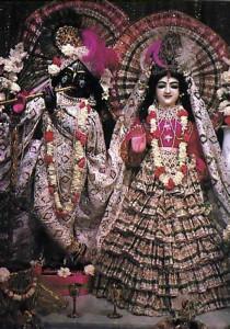 Krsna in Paris ... With His eternal consort Radha