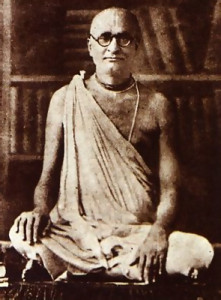 In 1933 Srila Bhaktisiddhanta Sarasvati Gosvami, a great modem teacher of this tradition, directed that the message of devotion to Krsna be brought to the English-speaking world.