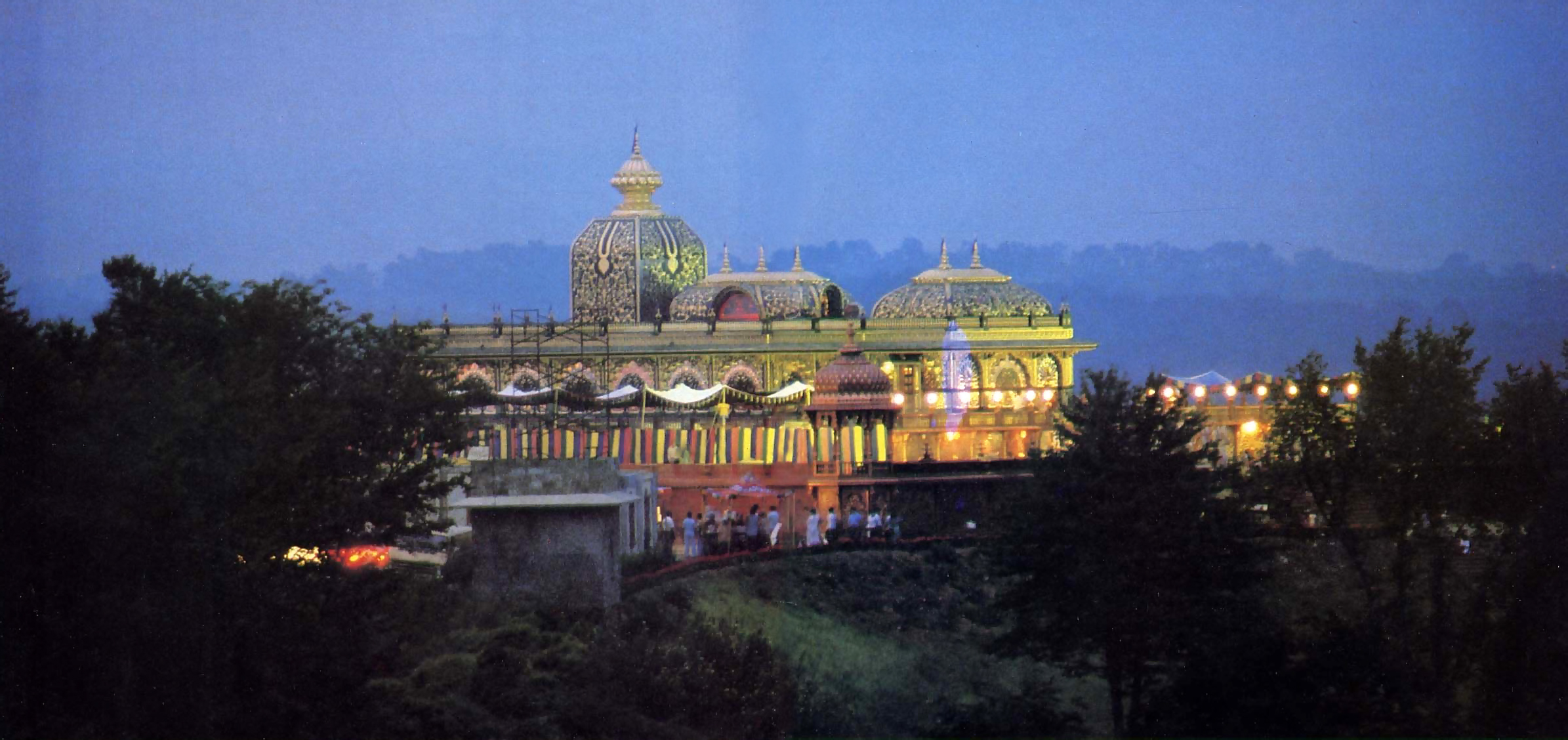 Prabhupada S Palace Of Gold In The Hills Of West Virginia