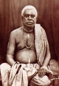 Srila Bhaktivinoda Thiikura. pioneer of the Krsna consciousness movement in 19th-century India.