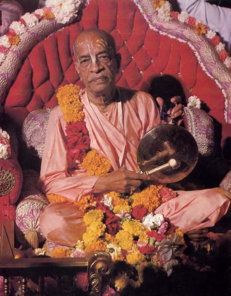 His Divine Grace A.C. Bhaktivedanta Swami Prabhupada Founder-Acarya of the International Society for Krishna Consciousness
