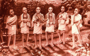 The Six Gosvamis of Vrndavana