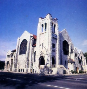 The Hare Krsna church-turned-temple stands proudly on Avenue Road, one of Toronto's busiest thoroughfares.