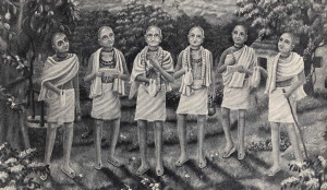 The Six Gosvamis of Vrndavana (16th century A. D.)
