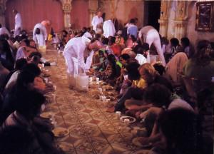 The Sunday feast in San Diego.