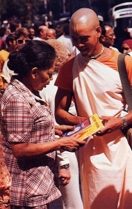 in Mexico, and all over the world, devotees distribute books on Krsna consciousness.