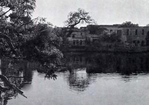 Krishna's bathing place.