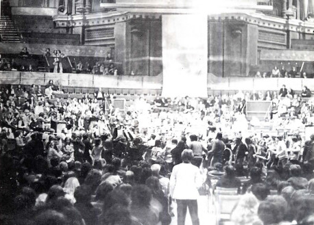 Kirtan at Albert Hall