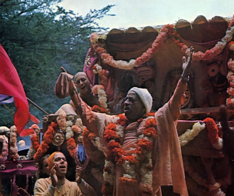 His Divine Grace A.C. Bhaktivedanta Swami Prabhupada, the Founder Acharya ISKCON