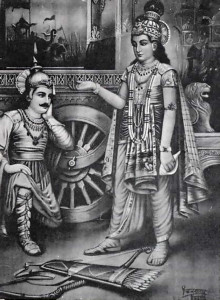 Krsna is original spiritual master of the Gita, and Arjuna if original disciple.