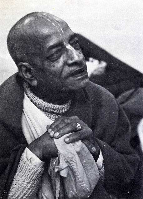 "His Divince Grace A.C. Bhaktivedanta Swami Prabhupada ""The spiritual master is honored as much as the Supreme Lord because of his being the most confidential servitor of the Lord. This is acknowledged in all revealed scriptures and is followed by all authorities. Therefore i offer my respectful obeisances unto the lotus feet of such a spiritual master, who is a bona fide representative of Sri Hari (Krsna)"""