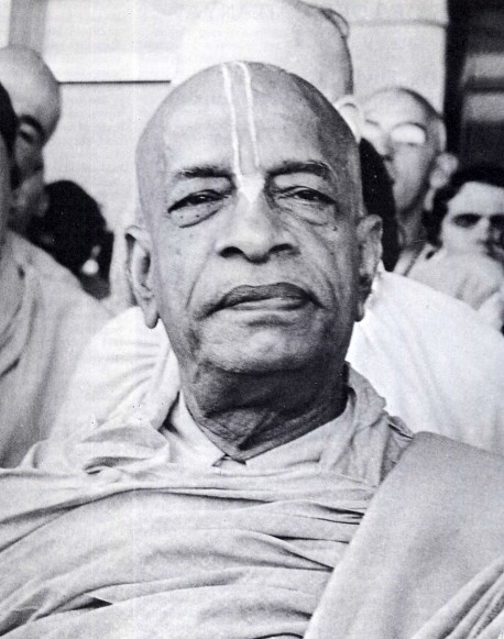 """His Divince Grace A.C. Bhaktivedanta Swami PrabhupadaFounder-Acarya of the International Society for Krishna Consciousness""""I offer my respectful obeisances unto my spiritual master, who, with the torchlight of knowledge, has opened my eyes, which were blinded by the darkness of ignorance."""""""