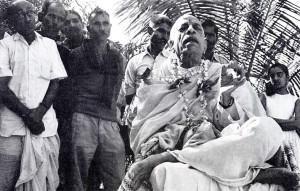 Srila Prabhupada tirelessly spoke-sometimes at three of four meetings a day - in praise of Krsna.