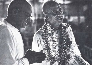 A.C. Bhaktivedanta Swami Prabhupada, the greatest exponent of Krsna consciousness in the modern world.