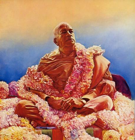 His Divince Grace A.C. Bhaktivedanta Swami Prabhupada Founder-Acarya of the International Society for Krishna Consciousness
