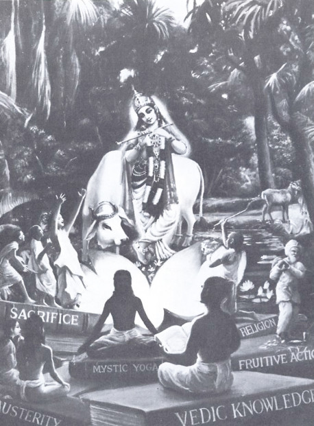 Lord Sri Krsna in the supreme goal of life