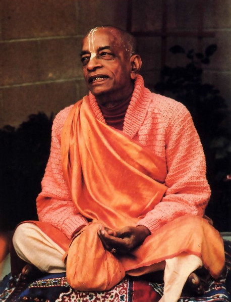 His Divine Grace A. C. Bhaktivedanta Swami Prabhupada, Founder-Acarya of the international Society for Krishna Consciousness, came to America in 1965. at age sixty-nine, to fulfill his spiritual master's request that he teach the science of Krsna consciousness throughout the English -speaking world. In a dozen years he published some seventy volumes of translation and commentary on India's Vedic literature, and these are now standard in universities worldwide. Meanwhile, traveling almost nonstop, Srila Prabhupada molded his international society into a worldwide confederation of asramas, schools, temples, and farm communities. He passed away in 1977 in India's Vrndavana, the place most sacred to Lord Krsna. His disciples are carrying forward the movement he started.