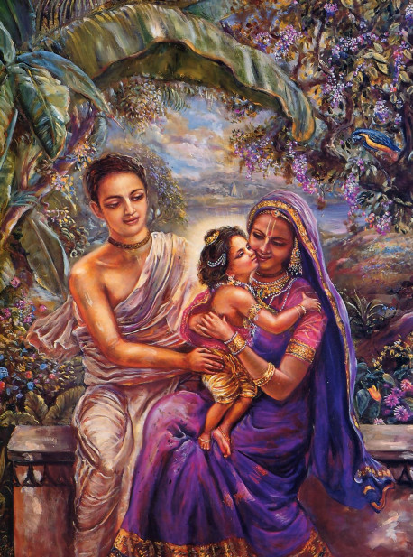 Lord Caitanya's appearance as the son of Jagannatha Misra and Srimatl Sacidevi was a transcendental event.