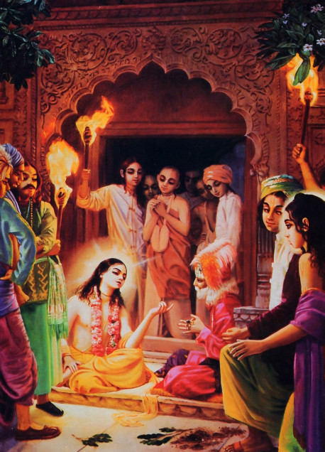 Lord Caitanya, by His logic, scriptural evidence, and charisma, was able to convince Chand Kazi to chant Hare Krsna.