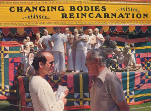 "While the body changes from youth to old age, the Bhagavad-gita explains, the self remains the same. With the festival's ""Changing Bodies"" exhibit as a backdrop, young and old discuss the science of reincarnation"