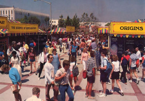 Devotees find many ways to communicate with students at a San Diego State University festival