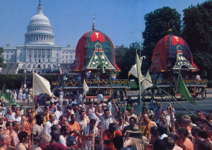 The ancient Festival of the Chariots, known in India as Ratha-yatra, brightens the U.S. Capitol