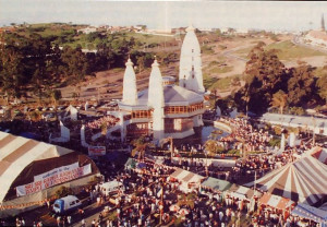 The new ISKCON temple in Natal attracts thousands of visitors for a festive three-day celebration and stands as a hope that South Africa's violent racial problems can be solved by God consciousness.