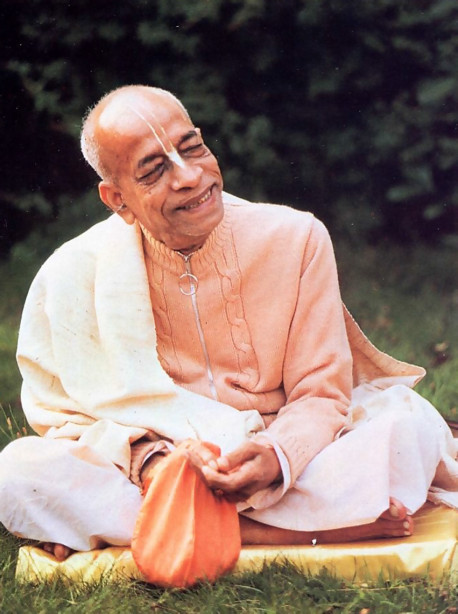 His Divine Grace A. C. Bhaktivedanta Swami Prabhupada, Founder-Acarya of the International Society for Krishna Consciousness, came to America in 1965, at age sixty-nine, to fulfill his spiritual master's request that he teach the science of Krsna consciousness throughout the English-speaking world. In a dozen years he published some seventy volumes of translation and commentary on India's Vedic literature, and these are now standard in universities worldwide. Meanwhile, traveling almost nonstop, Srila Prabhupada molded his international society into a worldwide confederation of asramas, schools, temples, and farm communities. He passed away in 1977 in India's Vrndavana, the place most sacred to Lord Krsna. His disciples are carrying forward the movement he started. Advanced disciples throughout the world have been authorized to serve in the position of spiritual master, initiating disciples of their own. And these disciples in turn, become linked with Srila Prabhupada through the transcendental system of disciples succession.
